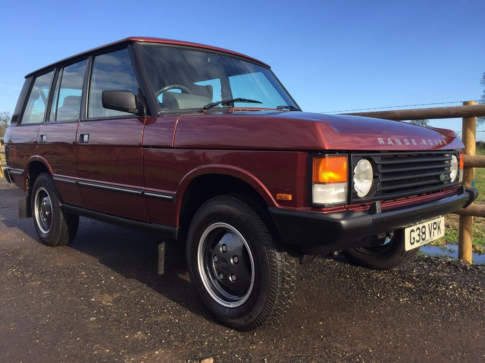 Range Rover Classic Turbo D manual