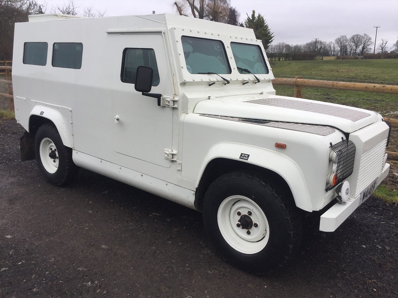 Armoured Land Rover Defender