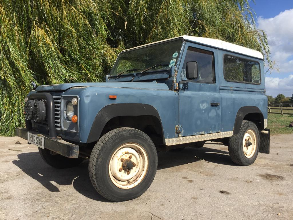 1990 USA exportable Land Rover 90