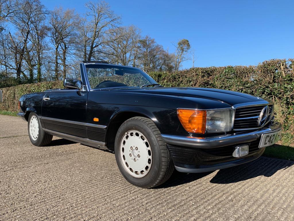 1985 Mercedes SL420-01