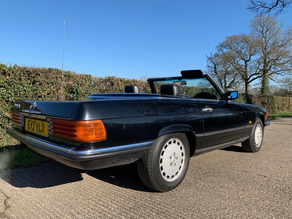 1985 Mercedes SL420-02