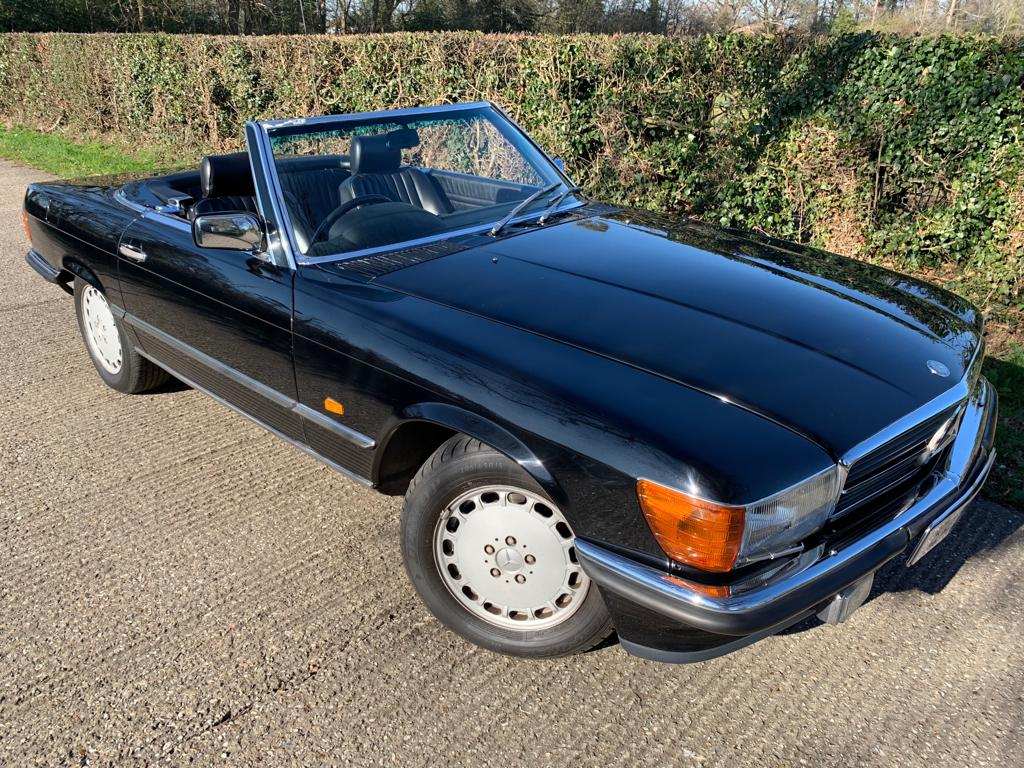 1985 Mercedes SL420-03