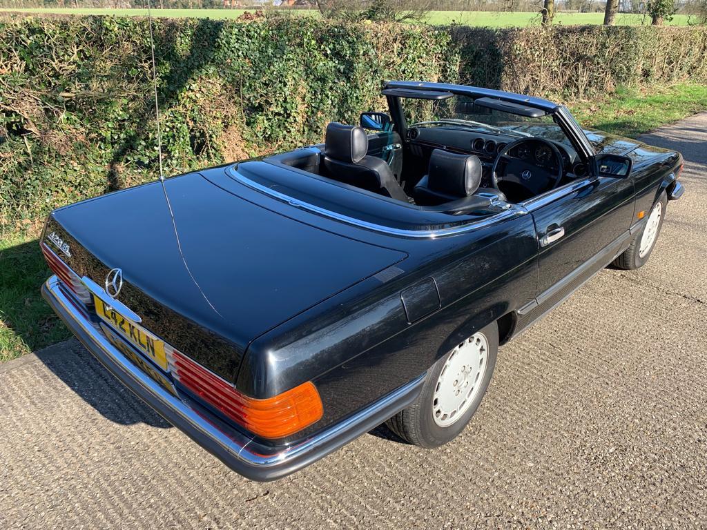 1985 Mercedes SL420-04
