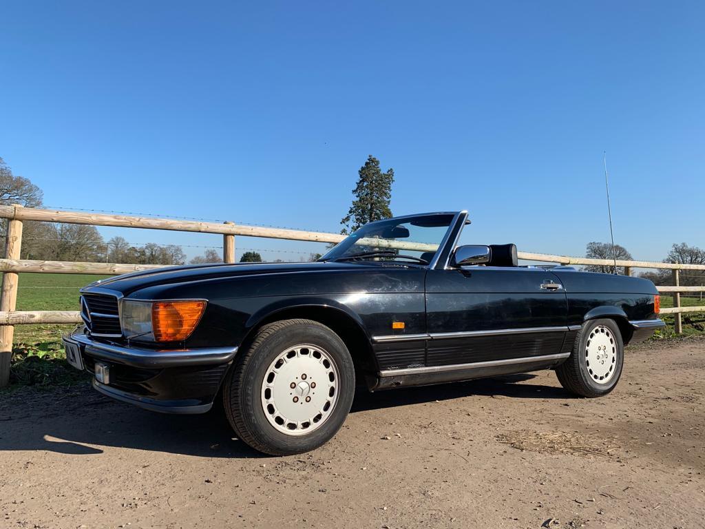 1985 Mercedes SL420-07