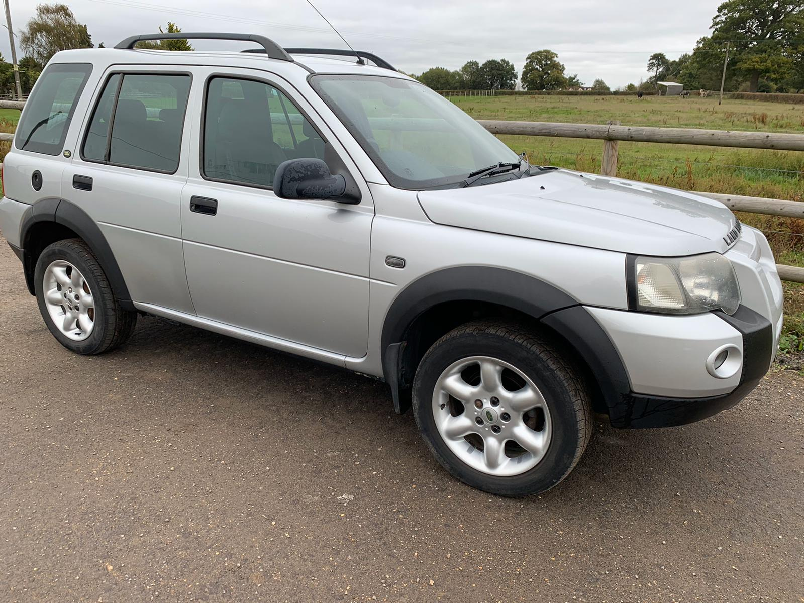 2005 Freelander Td4 manual
