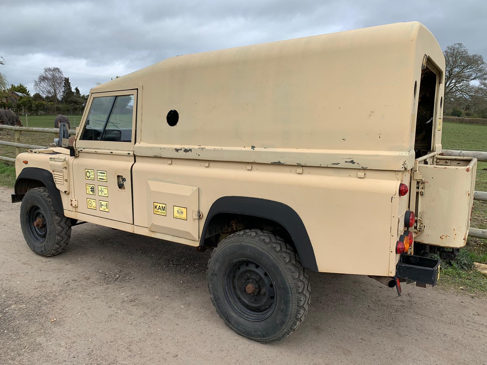 1990 Land Rover 110-10