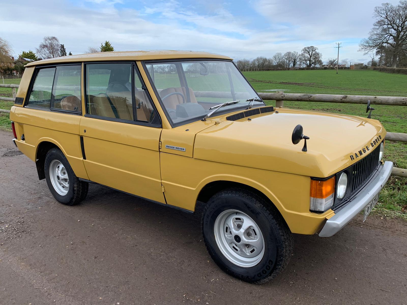 1971 Range Rover Classic 2 door